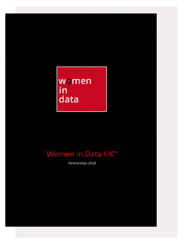 Women In Data UK 2018 Partner Opportunity